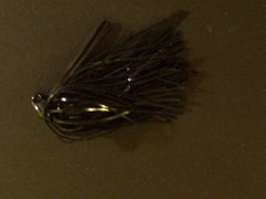 Serious Jig 1/4oz Black Hole