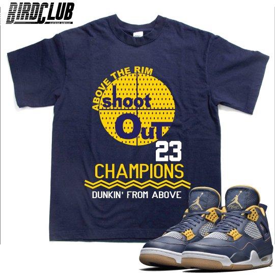 """Air Jordan 4 """"Dunk From Above"""" shirt"""