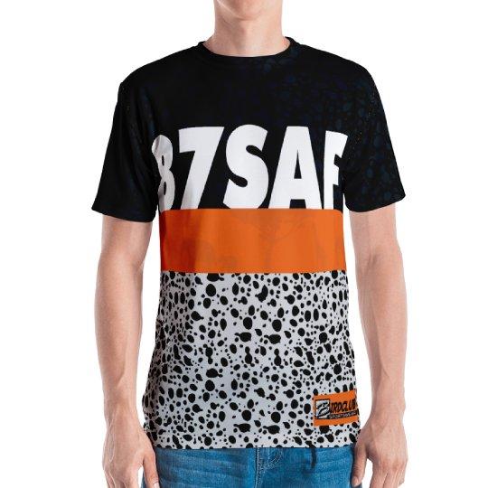 87 Safari classic safari all over print shirt
