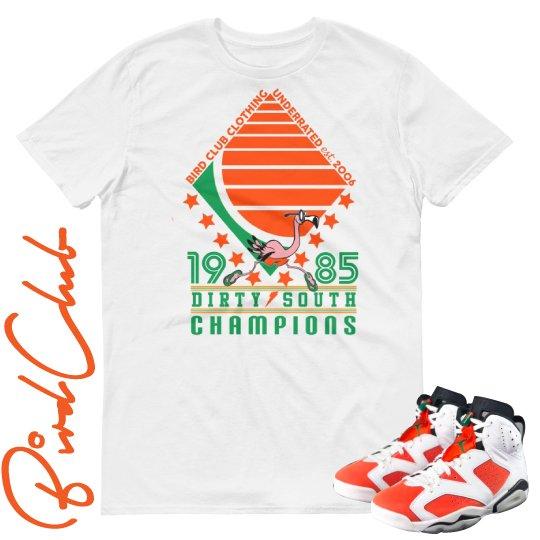 Gatorade 6 Dirty South Champions shirt