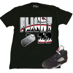 "AIR JORDAN 5 ""FLIGHT FLIGHTER"" SHIRT"