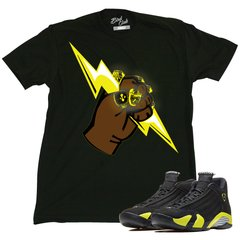 AIR JORDAN 14 THUNDER BOLT TEE