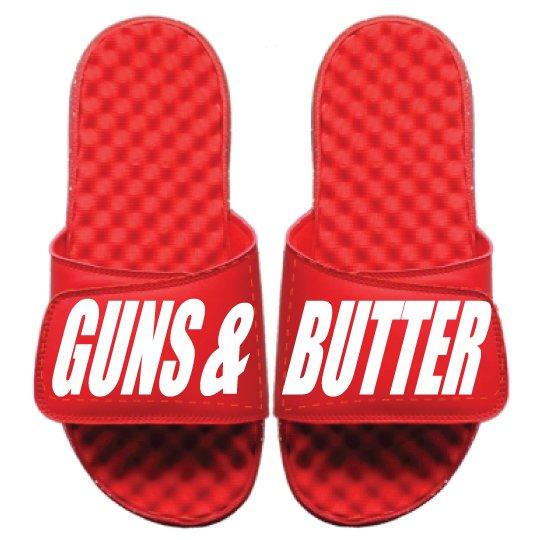 GUNS & BUTTER FLIP FLOPS