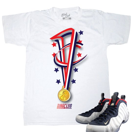 dc1e98ee1e800 ... shirt Matching Penny Foamposite Olympic tee ...