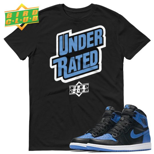 AIR JORDAN 1 HI OG ROYAL SHIRT