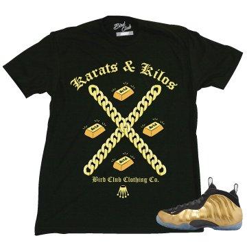 GOLD FOAMPOSITE TEE
