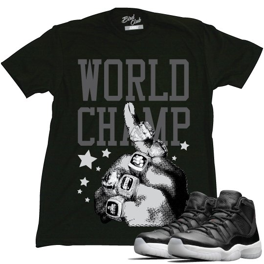 "Air Jordan 11 72-10 ""World Champ"" tee"