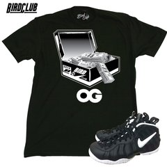 DR. DOOM FOAMPOSITE SHIRT TO MATCH OG SHOE BOX MONEY