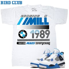 AIR JORDAN 4 MOTOR SPORT MATCHING SHIRT