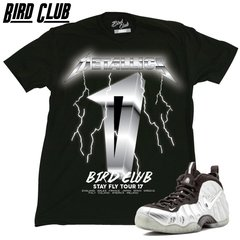 Silver Surfer Metallics Foamposite Shirt