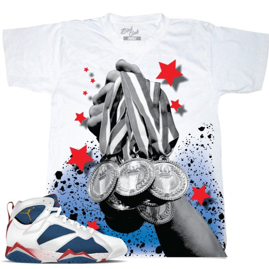 AIR JORDAN 7 TINKER ALTERNATE OLYMPIC SHIRT
