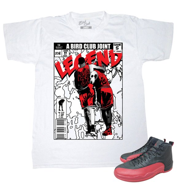 0d8ad55291f46f FLU GAME 12 LEGEND COMIC TEE Original RUFNEK Sneaker Shirts to Match the ...