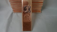 Kilo Capped Bust 99.9% Pure Copper Bullion Bar