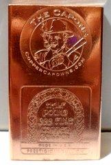 Half Pound Al Capone 99.9% Pure Copper Bullion Bar
