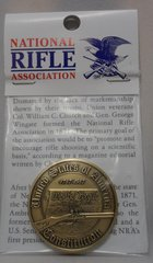 2ND Amendment With Constituion Bronze Antique 39MM Challenger Coin