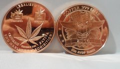 1OZ LegalizeD It .999 Fine Copper Bullion Round