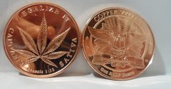 1OZ Legalize It .999 Fine Copper Bullion Round