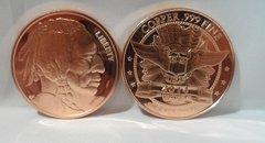 1OZ Indian Head .999 Fine Copper Bullion Round