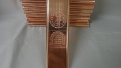 Kilo Military Fallen Heroes 99.9% Pure Copper Bullion Bar