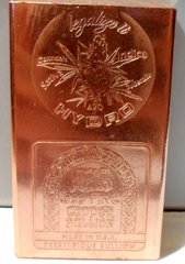 Half Pound Legalize It HYDRO 420 99.9% Pure Copper Bullion Bar