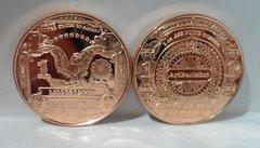 1OZ $1 Black Eagle Bank Note .999 Fine Copper Bullion Round
