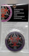 "Intergrated Zombie Eradication ""Charlie Team"" Nickel w/Enamel 44MM Coin"