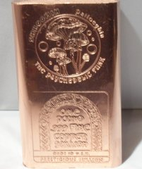 1 Pound Shroom 99.9% Pure Copper Bullion Bar
