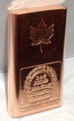 1 Pound Maple Leaf 99.9% Pure Copper Bullion Bar