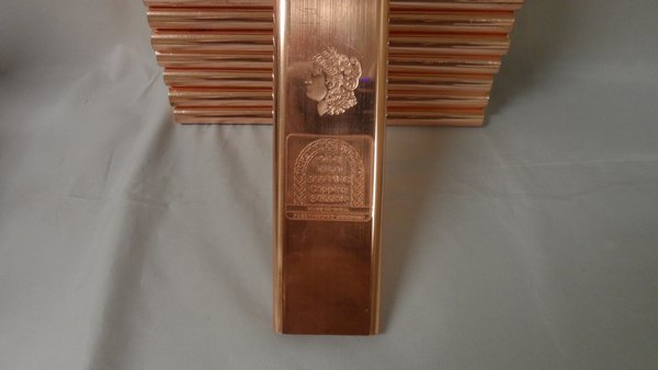 Kilo Morgan Dollar99.9% Pure Copper Bullion Bar