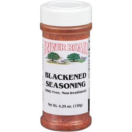 River road seasoning gypsy juice hot sauce for Blackening seasoning for fish