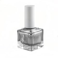 "ADRIANNE K Non-toxic 7-Free, Opaque Silver with Shimmer, ""Diamond"" Vegan & Cruelty-Free. Safe for Kids & Pregnancy"