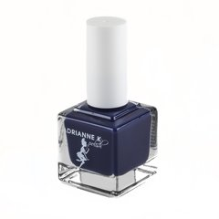 "ADRIANNE K Non-toxic 7 Free Nail Polish, Deep Blue or Navy Blue, ""Adriatic Sea"" Vegan, Pregnancy-safe Clean & Cruelty Free"