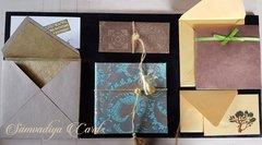 Elegance from Samvadiya Cards - Wedding Invitation Sample Board (for approved Samvadiya dealers only)