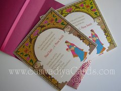 Indian Wedding Invitation & RSVP Cards - The Jaipur Arch