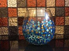 Confetti Dot Wine Glass