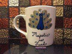 Majestic as Fuck Coffee Mug