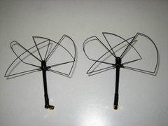 RHCP 1.2-1.3-900 pinwheel set (CRASHPROOF)