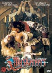 Erotic Aventures Of The Three Musketeers DVD