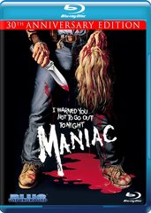 Maniac (30th Anniversary Edition) Blu-Ray