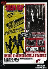 Grindhouse Double Feature: Naked Violence DVD