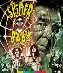 Spider Baby Blu-Ray/DVD