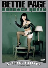 Bettie Page Bondage Queen DVD