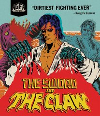 Sword And The Claw Blu-Ray