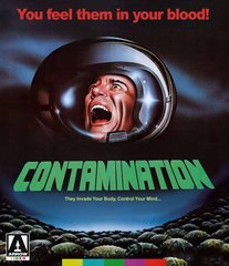 Contamination Blu-Ray/DVD