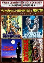 Vampires Mummies And Monsters DVD