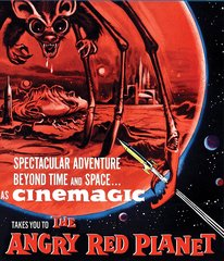 Angry Red Planet Blu-Ray