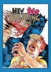 Hey Stop Stabbing Me DVD