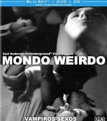 Mondo Weirdo / Vampiros Sexos Blu-Ray/DVD/CD