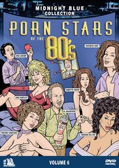 Midnight Blue Collection Volume 6: Porn Stars Of The 80's DVD