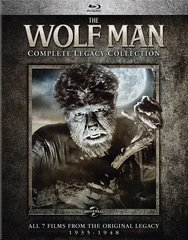 Wolf Man: The Complete Legacy Collection Blu-Ray